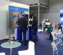 Messestand Weltec